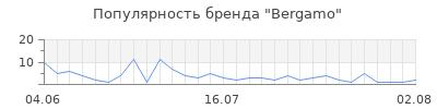 Популярность bergamo