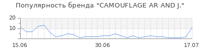 Популярность camouflage ar and j