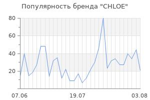 Популярность бренда chloe