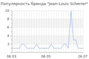 Популярность бренда jean louis scherrer