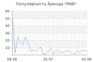 Популярность бренда pnb