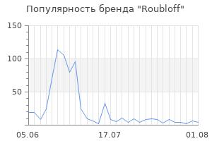 Популярность бренда roubloff