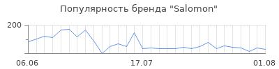 Популярность salomon
