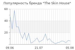 Популярность бренда the skin house