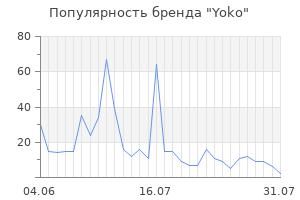 Популярность бренда yoko