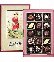 конфеты старинная открытка том