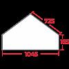 Каминокомплекты Высота 91.5