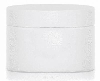 Igrobeauty, Баночка пластмассовая, белая, для косметических средств, 20 мл