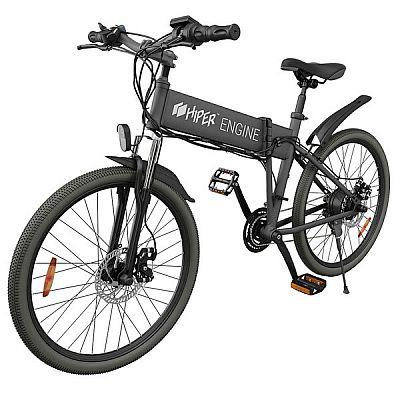 Электровелосипед Hiper Engine BX630 черный