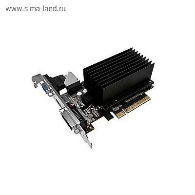 Видеокарта Palit GeForce GT 710 (PA-GT710-2GD3H) 2G,64bit,DDR3,954/1600,OEM