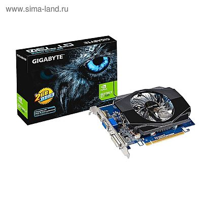 Видеокарта Gigabyte GeForce GT 730 (GV-N730D3-2GI) 2G,64bit,DDR3,902/1800