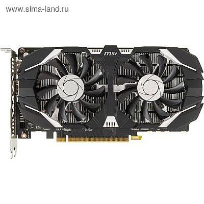 Видеокарта MSI GeForce GTX 1050TI (4GT OC) 4G,128bit,GDDR5,1341/7008,DVI,HDMI,DP
