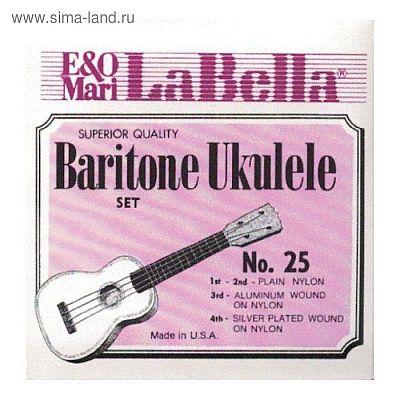 Комплект струн для укулеле La Bella  25-BARITONE  баритон