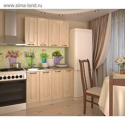 Кухонный гарнитур, грецкий орех 1, 1200 мм