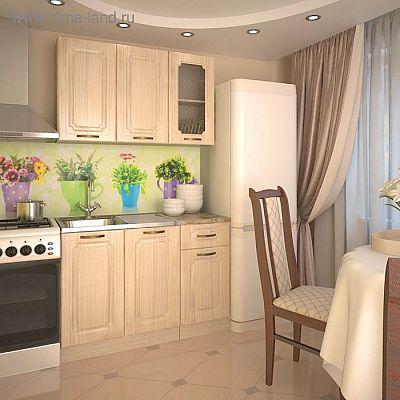 Кухонный гарнитур, грецкий орех 3, 1200 мм