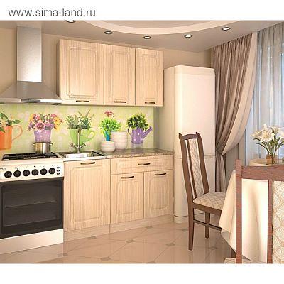 Кухонный гарнитур, грецкий орех 8, 1300 мм