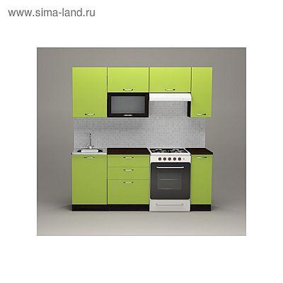 Кухонный гарнитур Лиана ультра, 2000 мм