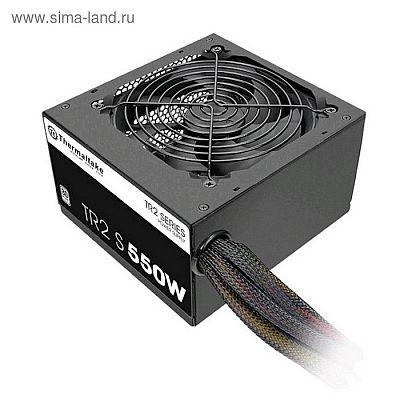 Блок питания Thermaltake ATX 550W TR2 S 80+ (24+4+4pin) APFC 120mm fan 5xSATA RTL