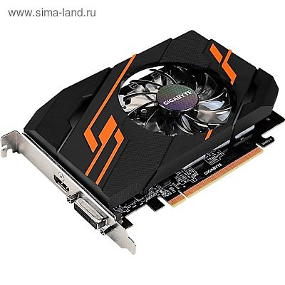 Видеокарта Gigabyte GeForce GT 1030 (GV-N1030OC-2GI) 2G,64bit,GDDR5,1290/6008