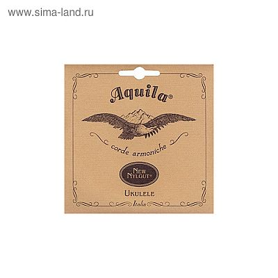 Струны для укулеле AQUILA NEW NYLGUT 21U баритон (Low D-G-B-E). 3 и 4 струны в оплетке.