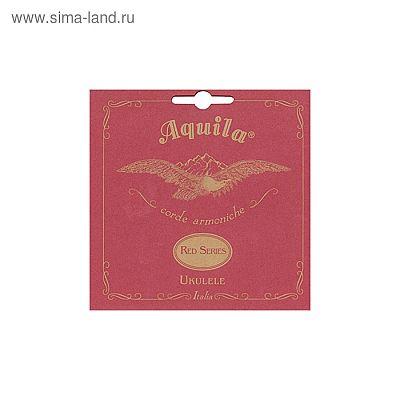Струны для укулеле AQUILA RED SERIES 89U баритон (Low D-G-B-E). 3 и 4 струны в оплетке.