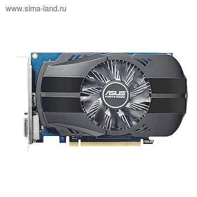Видеокарта Asus nVidia GeForce GT 1030, 2Гб, 64bit, GDDR5, DVI, HDMI, HDCP