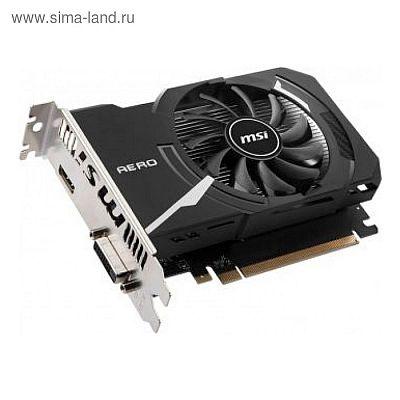 Видеокарта MSI nVidia GeForce GT 1030, 2Гб, 64bit, DDR4, HDMI, DP, HDCP