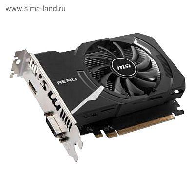 Видеокарта MSI nVidia GeForce GT 1030, 2Гб, 64bit, DDR4, HDMI, HDCP