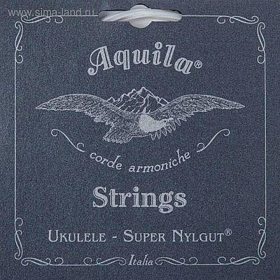 Струны для укулеле AQUILA SUPER NYLGUT 107U тенор (Low G-C-E-A).
