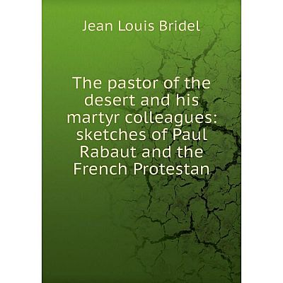 Книга The pastor of the desert and his martyr colleagues: sketches of Paul Rabaut and the French Protestan