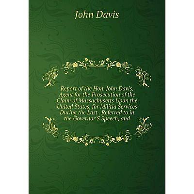 Книга Report of the Hon