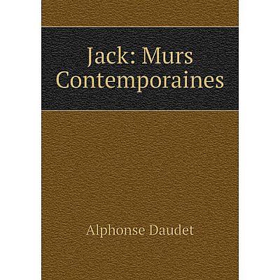 Книга Jack: Murs Contemporaines