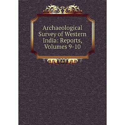 Книга Archaeological Survey of Western India: Reports, Volumes 9-10