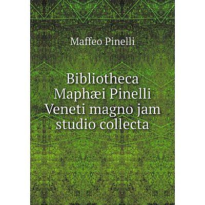 Книга Bibliotheca Maphæi Pinelli Veneti magno jam studio collecta