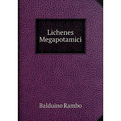 Книга Lichenes Megapotamici