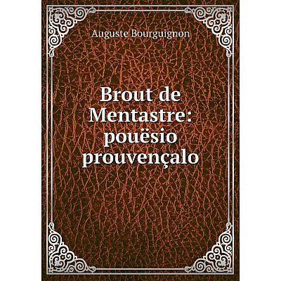 Книга Brout de Mentastre: pouësio prouvençalo
