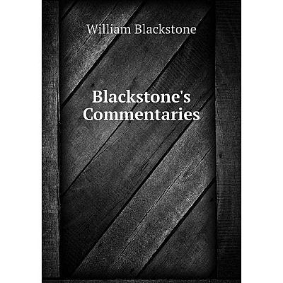 Книга Blackstone's Commentaries