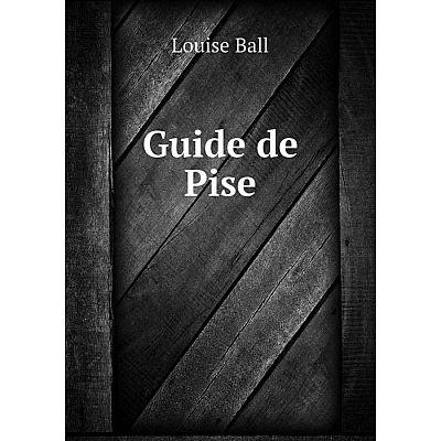 Книга Guide de Pise