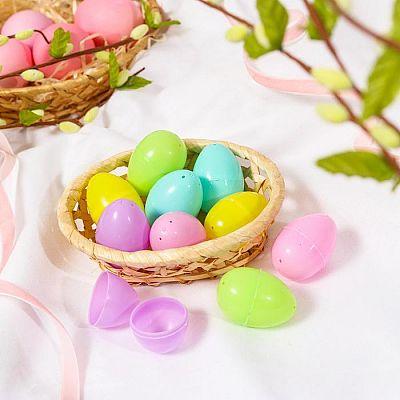 Основа для творчества «Яйцо», открывается, набор 10 шт., размер 1 шт: 3 × 4,5 см, цвета МИКС