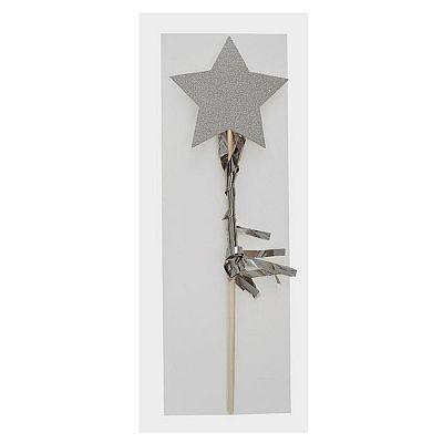 Топпер «Звезда», с бахромой, цвета МИКС