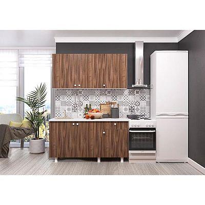 Кухонный гарнитур Поинт 1500, Тьеполо фасад/ Белый корпус