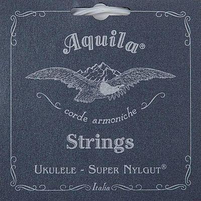 Струны для укулеле AQUILA SUPER NYLGUT 101U сопрано (Low G-C-E-A).