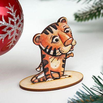 "Заготовка ""Символ года 2022. Тигр"" на подставке"