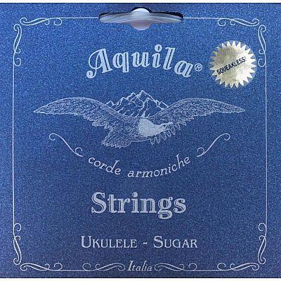 Струны для укулеле AQUILA SUGAR 151U сопрано (Low G - C - E - A), 4 струна в оплетке.