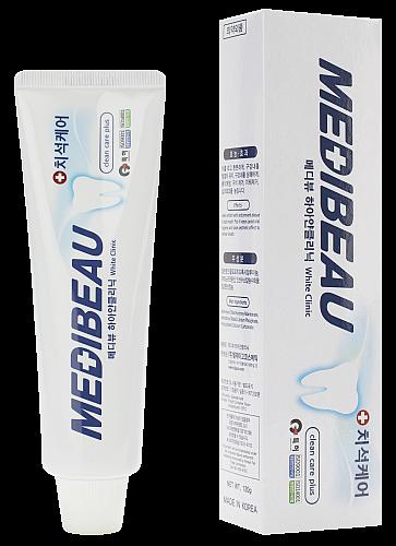 Отбеливающая зубная паста MEDIBEAU 120г