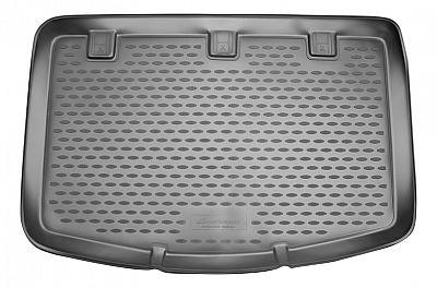 Коврик в багажник KIA Rio, 2011-2014 хб, (сборка Словакия) (полиуретан)