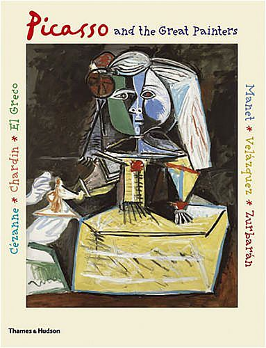 Книга Picasso and The Great Painters