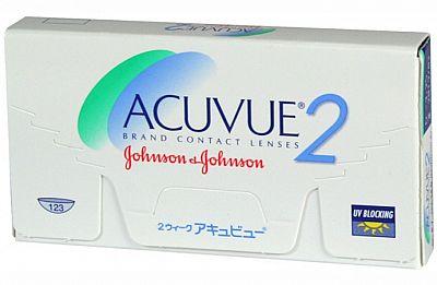 Контактные линзы Acuvue 2 6 линз R 8,3 -7,50