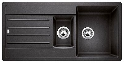 Мойка для кухни гранитная Blanco LEGRA 6S 522207 антрацит