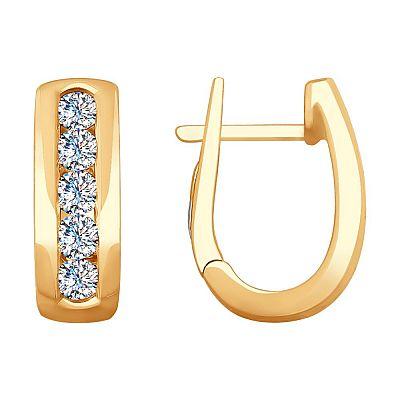 Серьги SOKOLOV из золота с бриллиантами